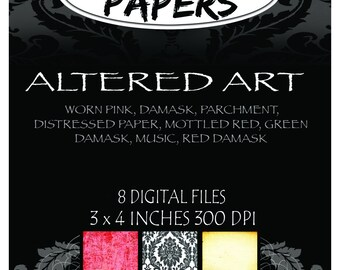 Altered Art Collection Digital Patterns