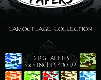 Camoflage Collection Digital Patterns