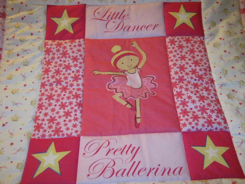 Baby Little Dancer Pretty Ballerina BabyToddler Quilt-NEWLY MADE