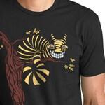 Cheshire Cat T-Shirt, Alice in Wonderland t-shirt, Original graphic tee, Art T-shirt, Unique Gift for Men