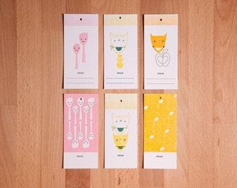Suzy Ultman Letterpress Gift Tags (Set of 12)