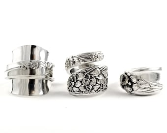 Make a Spoon Ring From Your Spoon - Custom Spoon Ring - Baby Spoon Ring - Custom Made Spoon Ring
