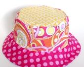 Baby girl sun hat, bucket...