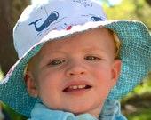 Bucket sun hat for babies...