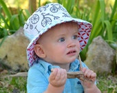 Baby boy bucket hat, sun ...