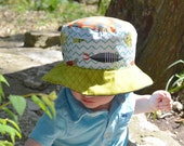 Baby boy bucket hat, sun ...