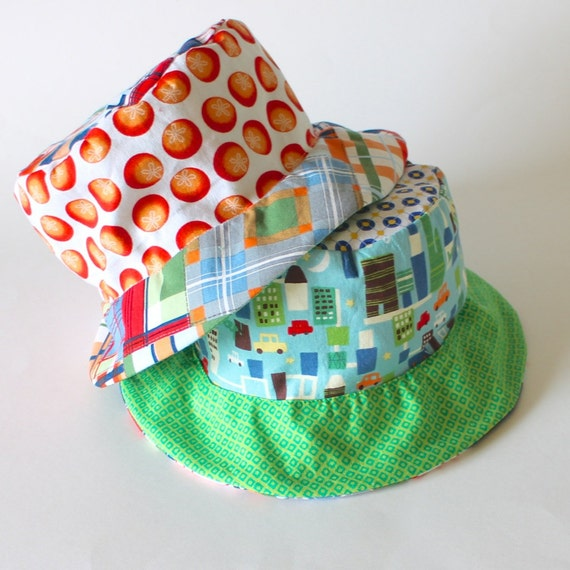 0af36c0507c SALE Ready to Ship Bucket Sun Hat for Toddler Boys Photo