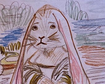 Mona Lisa Bunny