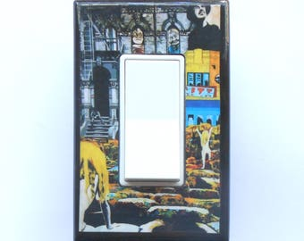 Led Zeppelin Switch Plate Covers Outlets W MATCHING SCREWS Albums Poster Houses Of The Holy Stairway To Heaven