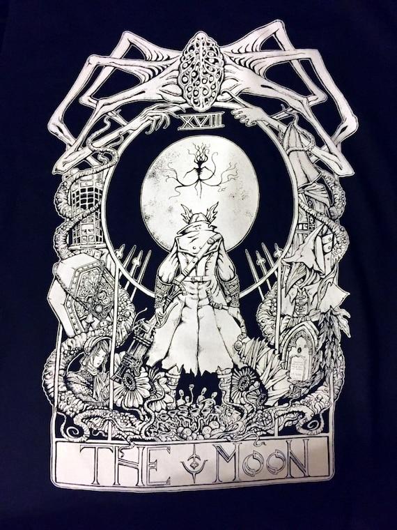 Bloodborne Tarot T-shirt The Moon