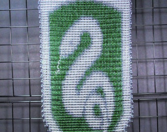 Slytherin Themed Chain Mail Wall Banner