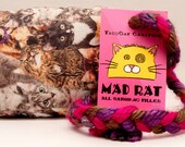 Various Kitties Pattern MadRat Catnip Stuffed Cat Toy