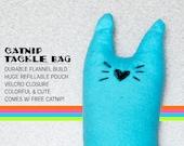 Fizzle Sticks Refillable Catnip Cat Toy - BLUE