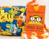 Pokemon Catnip Stuffed NerdRat Cat Toy