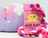 Unikitty Pattern Catnip Stuffed MadRat Cat Toy