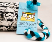 Star Wars Storm Trooper Catnip Stuffed NerdRat Cat Toy
