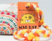 Mandala Pattern Catnip Stuffed MadRat Cat Toy