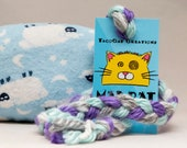 Counting Sheep Catnip Stuffed MadRat Cat Toy