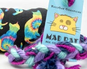 Rainbow Cats Catnip Stuffed MadRat Cat Toy