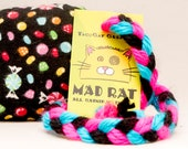 Candy Catnip Stuffed MadRat Cat Toy