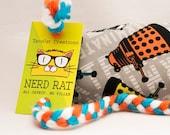 Dr Who Daleks Catnip Stuffed NerdRat Cat Toy