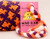 Orange Cartoon Cats on Pu...