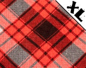 Red Plaid XL Refillable C...