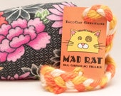 Pastel Flowers Catnip Stuffed MadRat Cat Toy