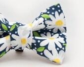 Daisies Dapper Cat Bow Tie