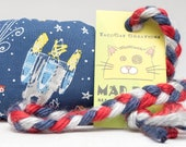 Space Ships Catnip Stuffed MadRat Cat Toy