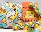 Bananya Cat Toss Pattern MadRat Catnip Stuffed Cat Toy