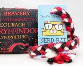Harry Potter Gryffindor Catnip Stuffed NerdRat Cat Toy