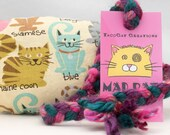 Cat Breed Cartoons Catnip Stuffed MadRat Cat Toy