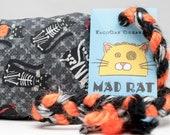 Halloween Cat Costume Party Pattern Catnip Stuffed MadRat Cat Toy