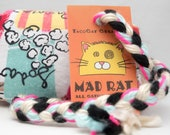 Le Bistro Catnip Stuffed MadRat Cat Toy
