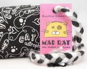CAT astrophe Catnip Stuffed MadRat Cat Toy