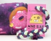 Donuts in Space Catnip Stuffed MadRat Cat Toy