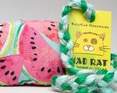 Watermelon Pattern MadRat Catnip Stuffed Cat Toy