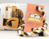 Star Trek Characters Catnip Stuffed NerdRat Cat Toy