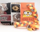 Guardians of the Galaxy Rocket Raccoon Catnip Stuffed NerdRat Cat Toy
