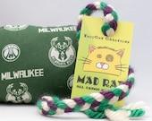 Milwaukee Bucks MadRat Catnip Stuffed Cat Toy