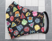READY TO SHIP Rainbow Star Wars Pattern Contoured Cotton Face Mask w/ Filter Pocket