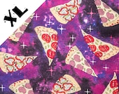 Galaxy Space Pizza XL Refillable Catnip Mat