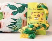 Cute Cacti Catnip Stuffed MadRat Cat Toy