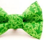 Dapper Cat St Patty's Irish Cross Bow Tie