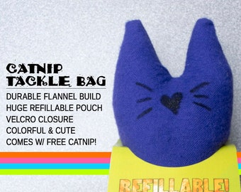 Fizzle Sticks Refillable Catnip Cat Toy - PURPLE