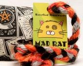 Spooky Tarot Cats Catnip Stuffed MadRat Cat Toy