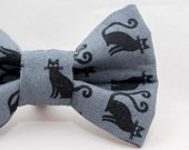 Black Cat Cat Bow Tie...