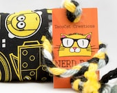 Minions Catnip Stuffed NerdRat Cat Toy