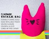Fizzle Sticks Refillable Catnip Cat Toy - PINK